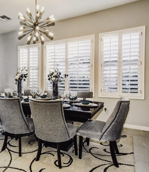 Dining Room Shutters Services