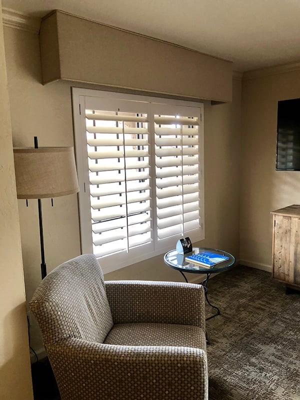 Hotel Room Shutters
